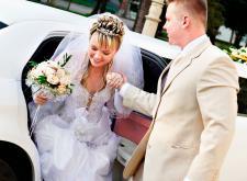 Аренда лимузина на свадьбу в СПб