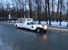 Роскошная карета для романтических предложений в городе на Неве