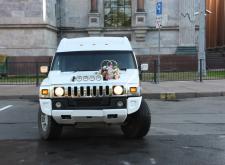 Аренда Лимузина Hummer H2 в Спб внешний вид1
