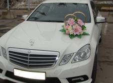 Аренда автомобиля Mercedes W212 белый в Спб