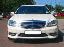 Аренда автомобиля Mercedes W222 белый в СПб