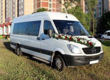 Прокат микроавтобуса Mercedes Sprinter в Питере внешний вид2