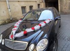 Заказать Мерседес W211 в Санкт-Петербурге на свадьбу внешний вид3