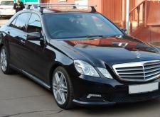 Заказать Мерседес W212 в Санкт-Петербурге на свадьбу черный