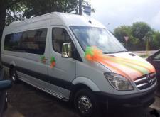 Заказать микроавтобус Мерседес Спринтер в Санкт-Петербурге внешний вид3