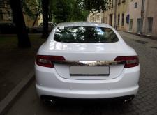 Прекрасный автомобиль Ягуар икс эф в СПб внешний вид4