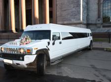 Заказать лимузин HummerH2 Hyper свадьбу в Питере внешний вид5