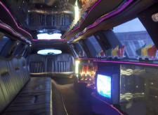 Арендовать лимузин Lincoln Towncar в Санкт-Петербурге салон2